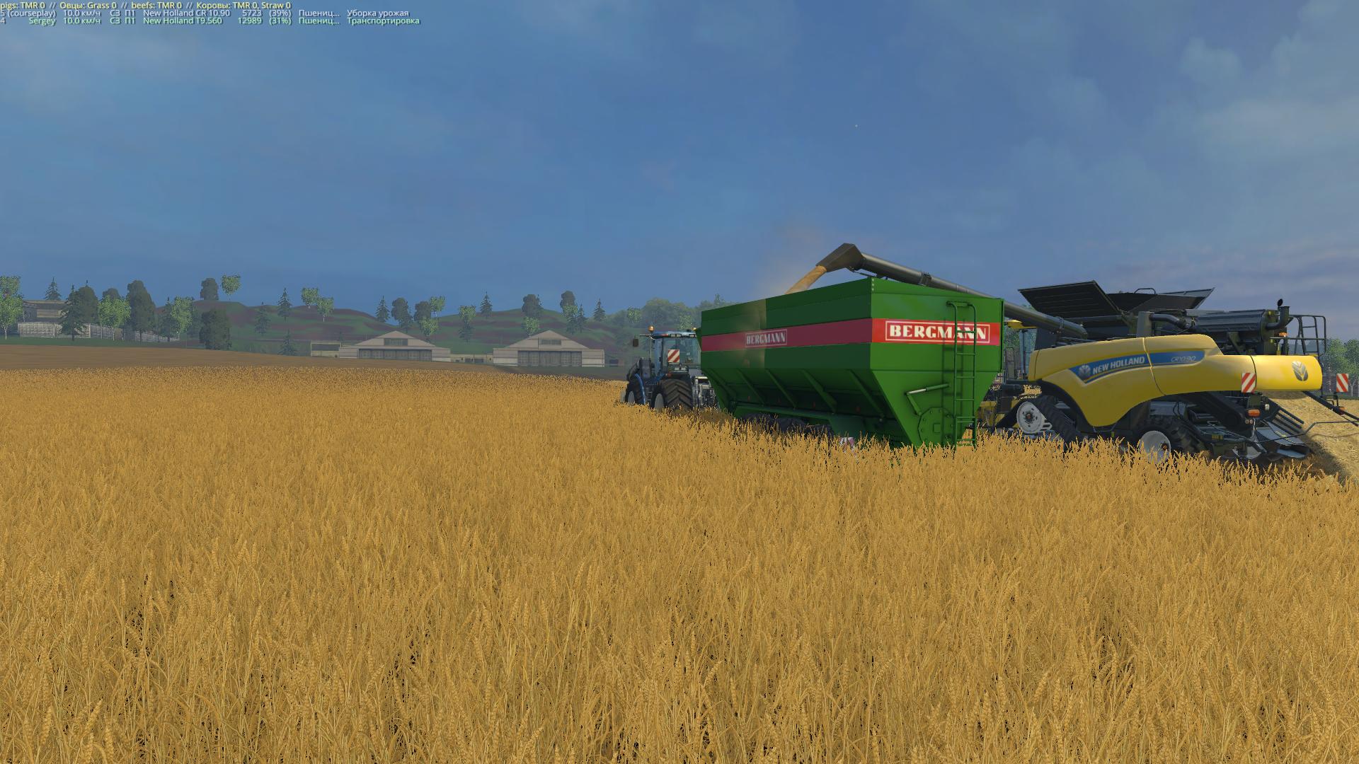 Объем прицепа будь здоров! - Farming Simulator 15