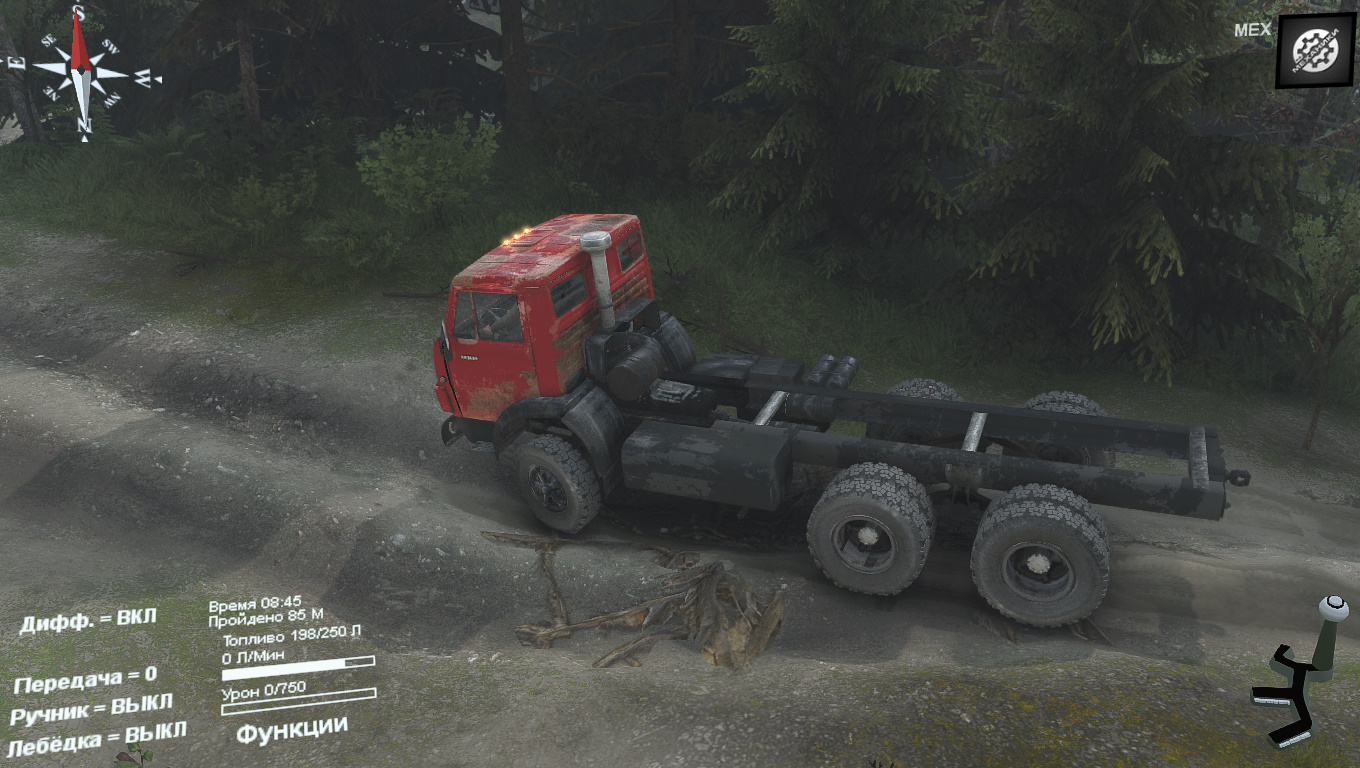 KamAZ 55102 for 25.12.15 - Spintires
