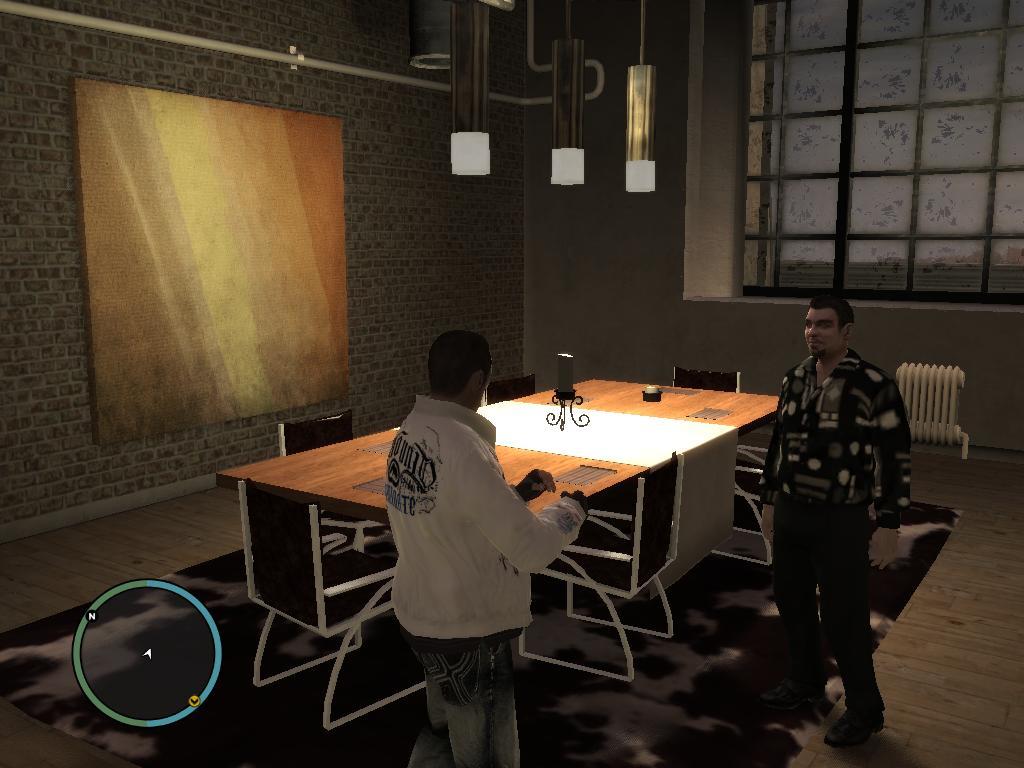 Роман и Я в пентхаусе(2) - Grand Theft Auto 4
