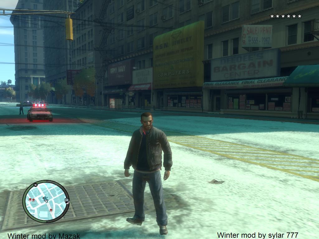 Liberty winter mod - Grand Theft Auto 4