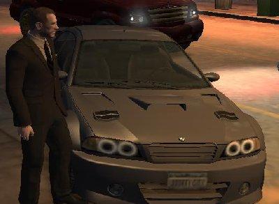якобы новая тачка - Grand Theft Auto 4
