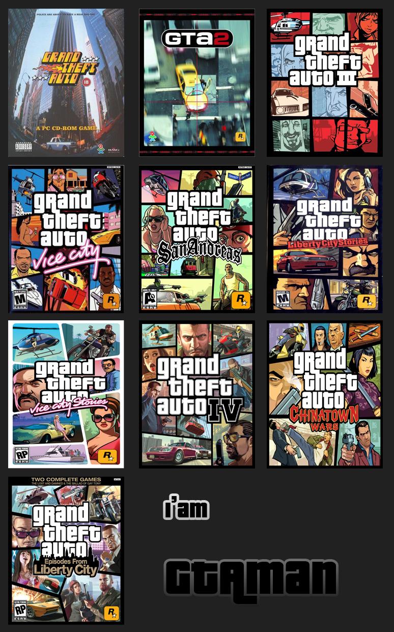 Я GTAman GTA никогда не умрёт - Grand Theft Auto 4
