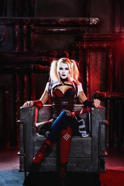 Персонаж: Харли Квин Вселенная: DC - - девушки в играх, косплей