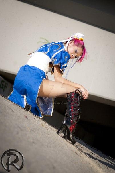 Персонаж: Chun Li Модель: Annie - - девушки в играх, косплей