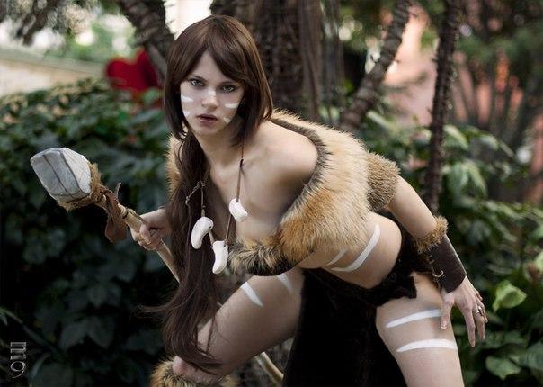 Персонаж: Nidalee - - девушки в играх, косплей