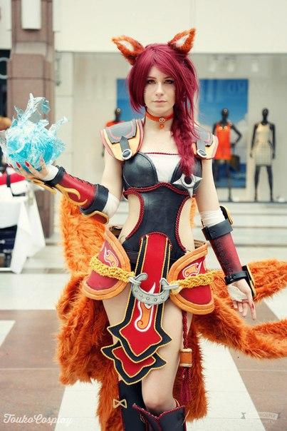 Персонаж: Ahri Модель: Touko - - девушки в играх, косплей