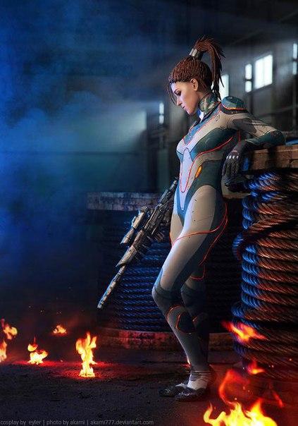 Персонаж: Sarah Kerrigan - - девушки в играх, косплей