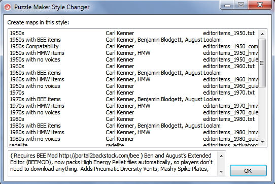 Style Changer - - BEE2, Changer, Style