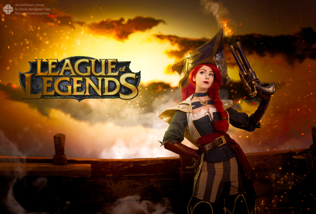 captain_fortune_league_of_legends_by_jokerlolibel-d9pbb8f.jpg - - девушки в играх, косплей