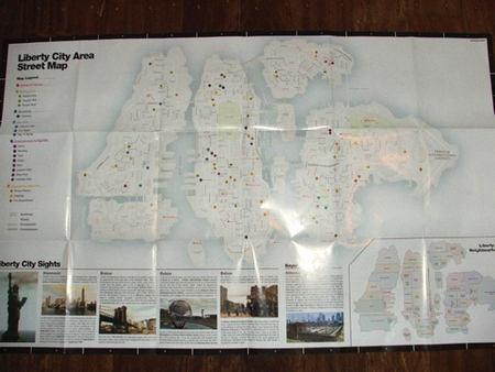 MAP of Libert City - Grand Theft Auto 4