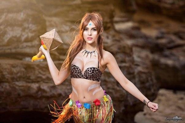Персонаж - Pool Party Nidalee Косплеер - Britta Moraitis Страна - Australia - - девушки в играх, косплей