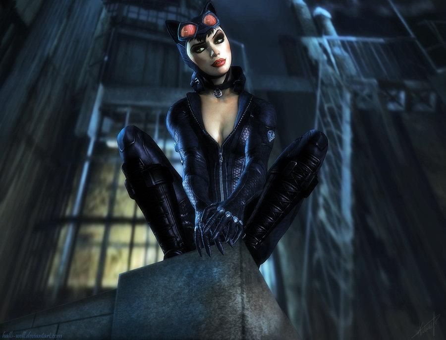 Картинки игры женщина кошка