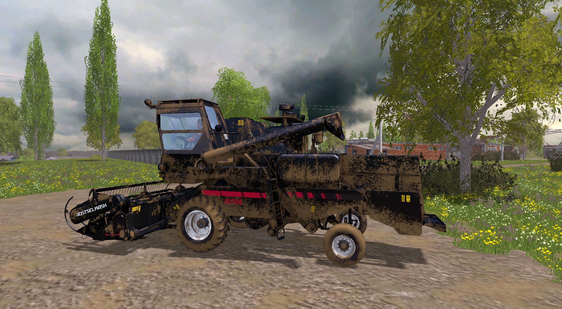 Rostselmash Niva Pack MULTICOLOR V 1.0.0.0 - Farming Simulator 15