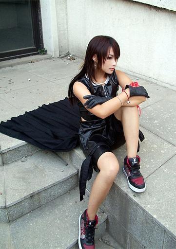 10-77 - Final Fantasy 7 девушки в играх, косплей