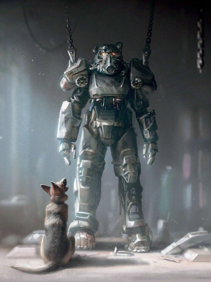 Fallout-фэндомы-Fallout-4-Fallout-art-2915021.jpeg - - Собака