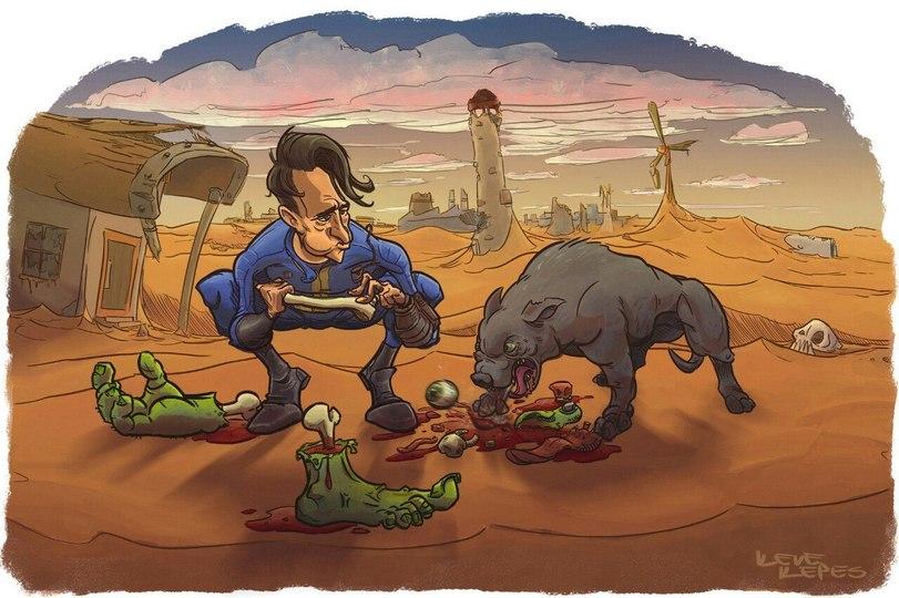 Fallout-art-Fallout-фэндомы-3172707.jpeg - - Собака
