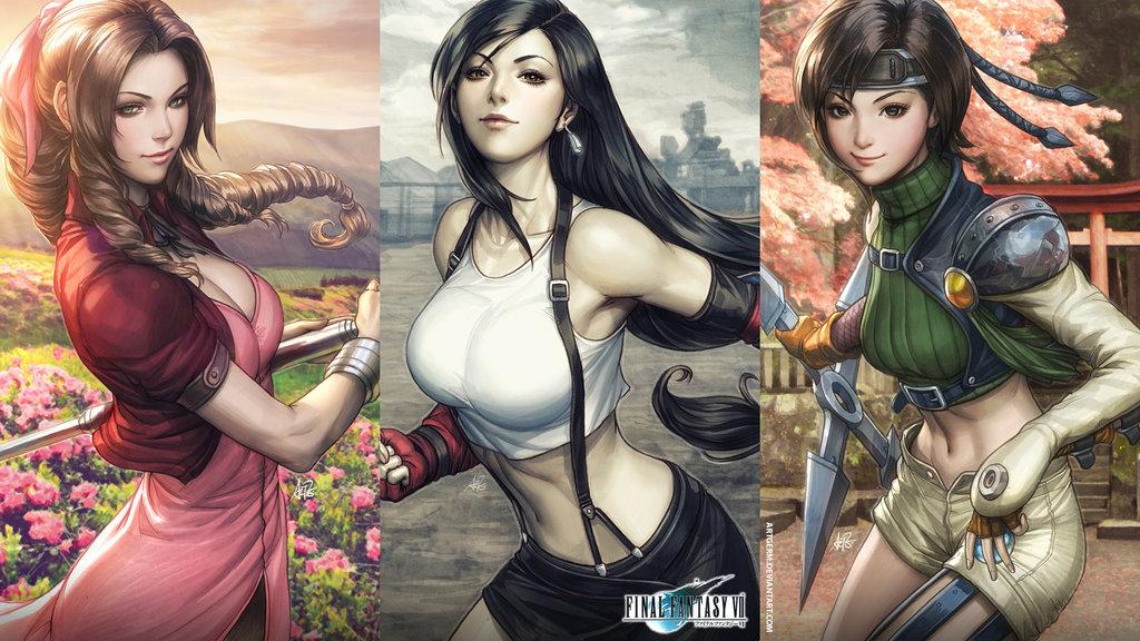 ff7_wallpaper.jpg - Final Fantasy 7 FF7, Обои