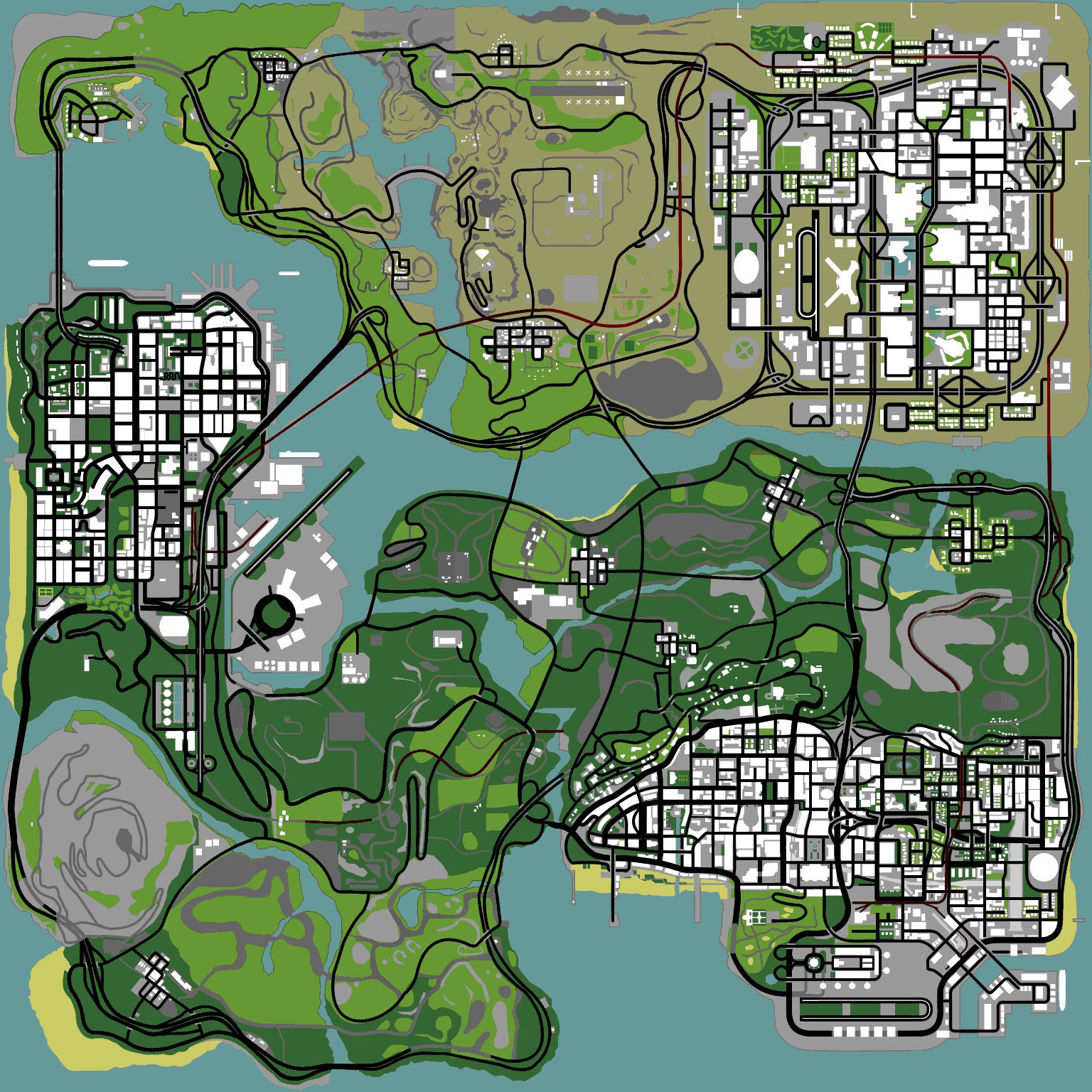 sanandreas_map.jpg - Grand Theft Auto: San Andreas