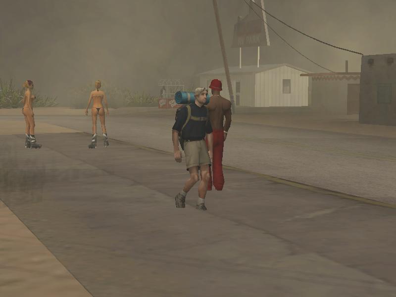 эпсилонец - Grand Theft Auto: San Andreas