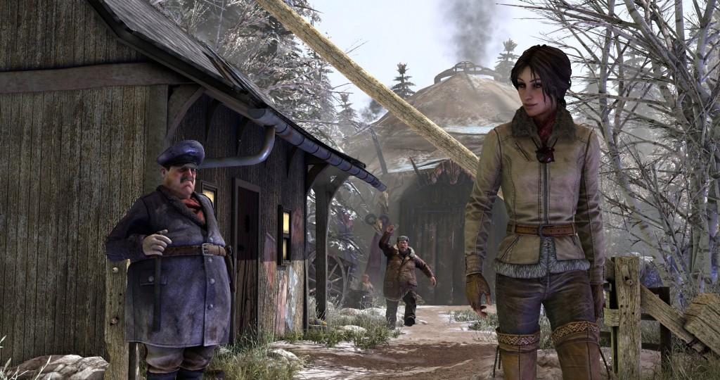 Syberia 3 - Syberia 3 Персонаж, Скриншот