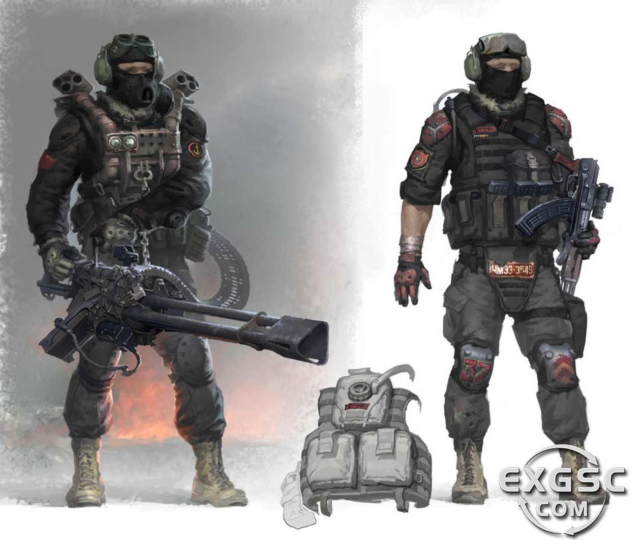 S.T.A.L.K.E.R. 2 Concept Art - S.T.A.L.K.E.R. 2 арт