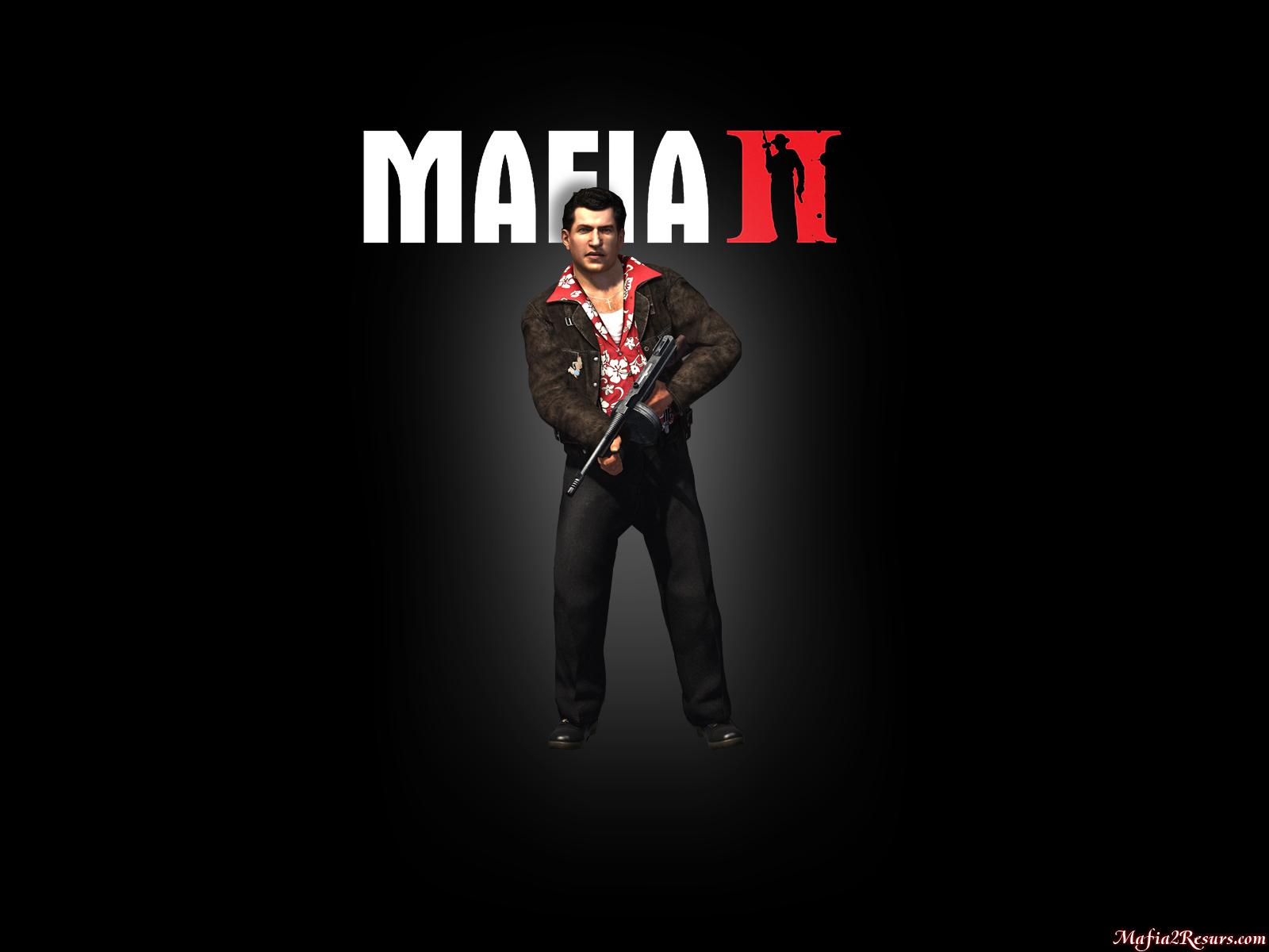 Здесь находятся обои Мафии 2, сделанные на основе иллюстраций с главными героями. - Mafia 2
