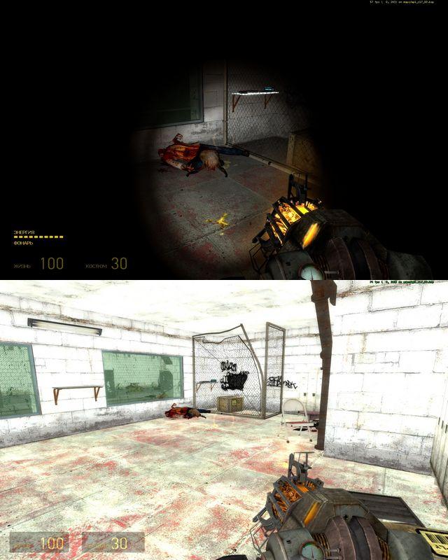 mat_fullbright 1 - Half-Life 2