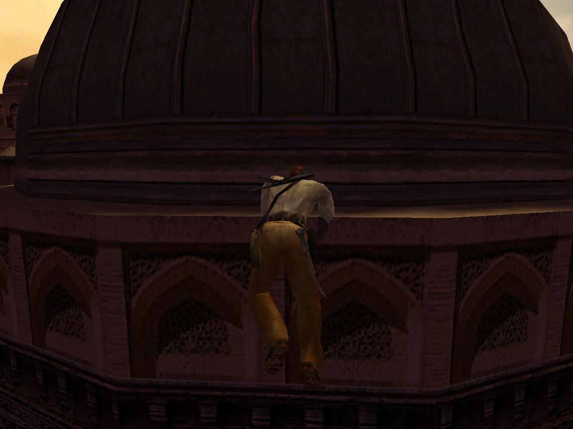 секрет - Indiana Jones and the Emperor's Tomb