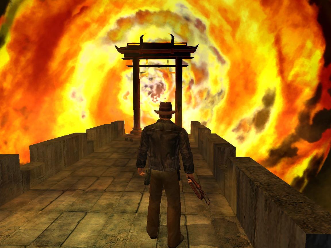 прикол - Indiana Jones and the Emperor's Tomb Юмор