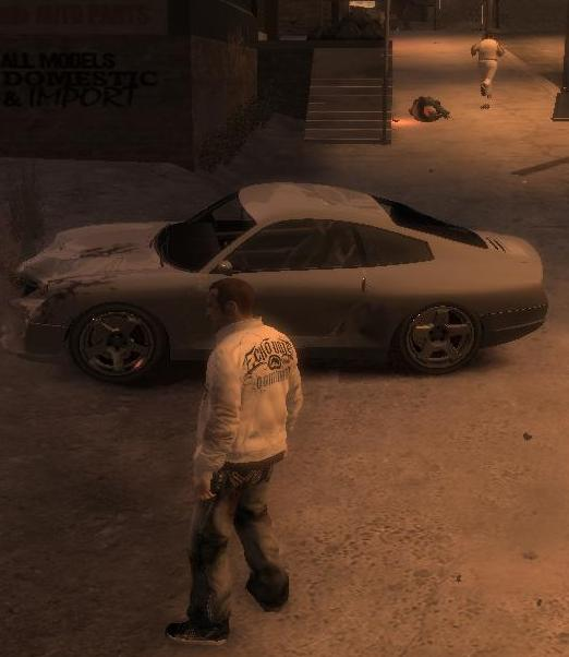Реклама автомобиля. - Grand Theft Auto 4