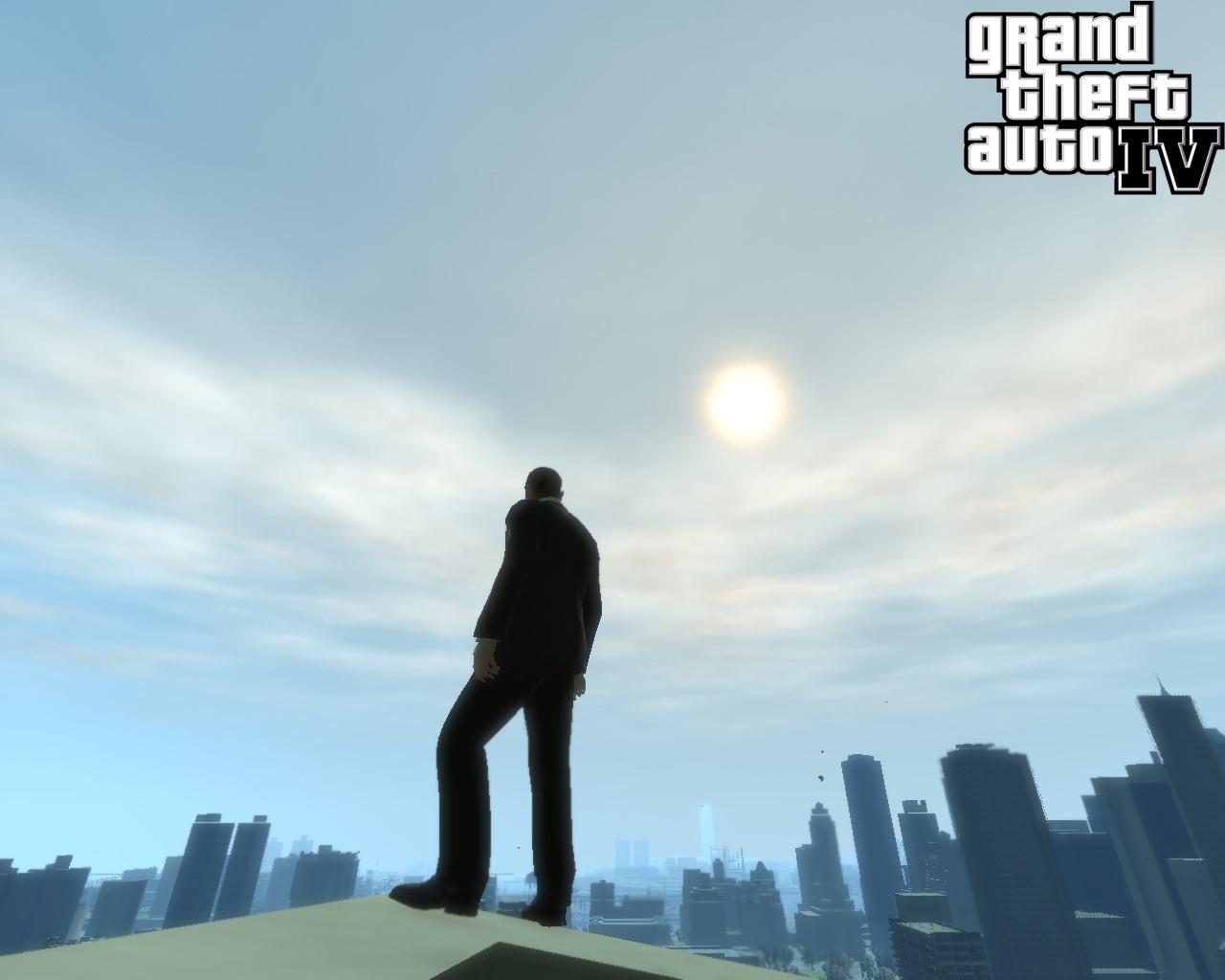 Красивый вид - Grand Theft Auto 4