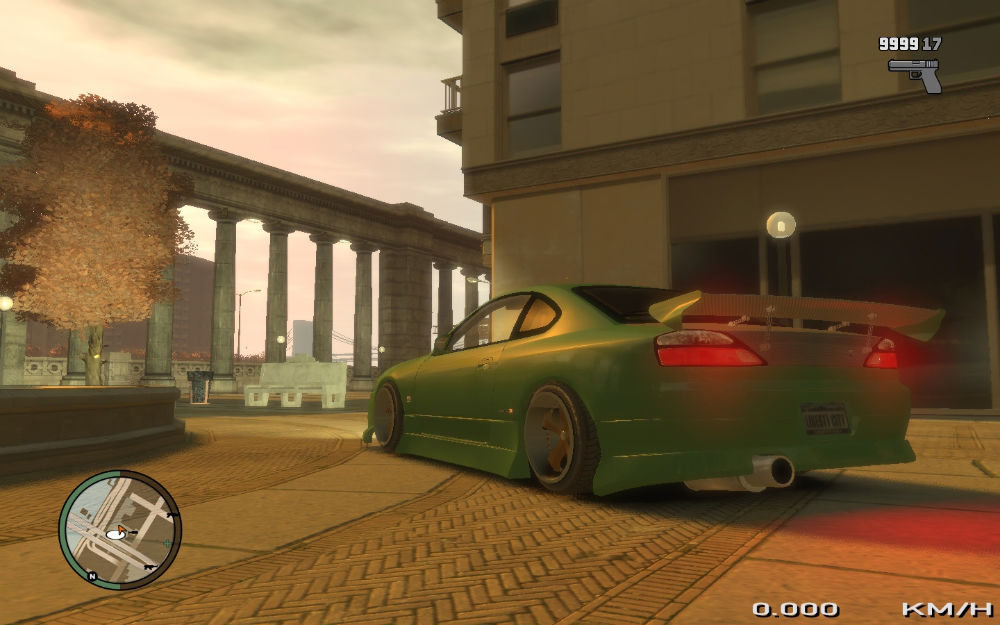SILVIA - Grand Theft Auto 4