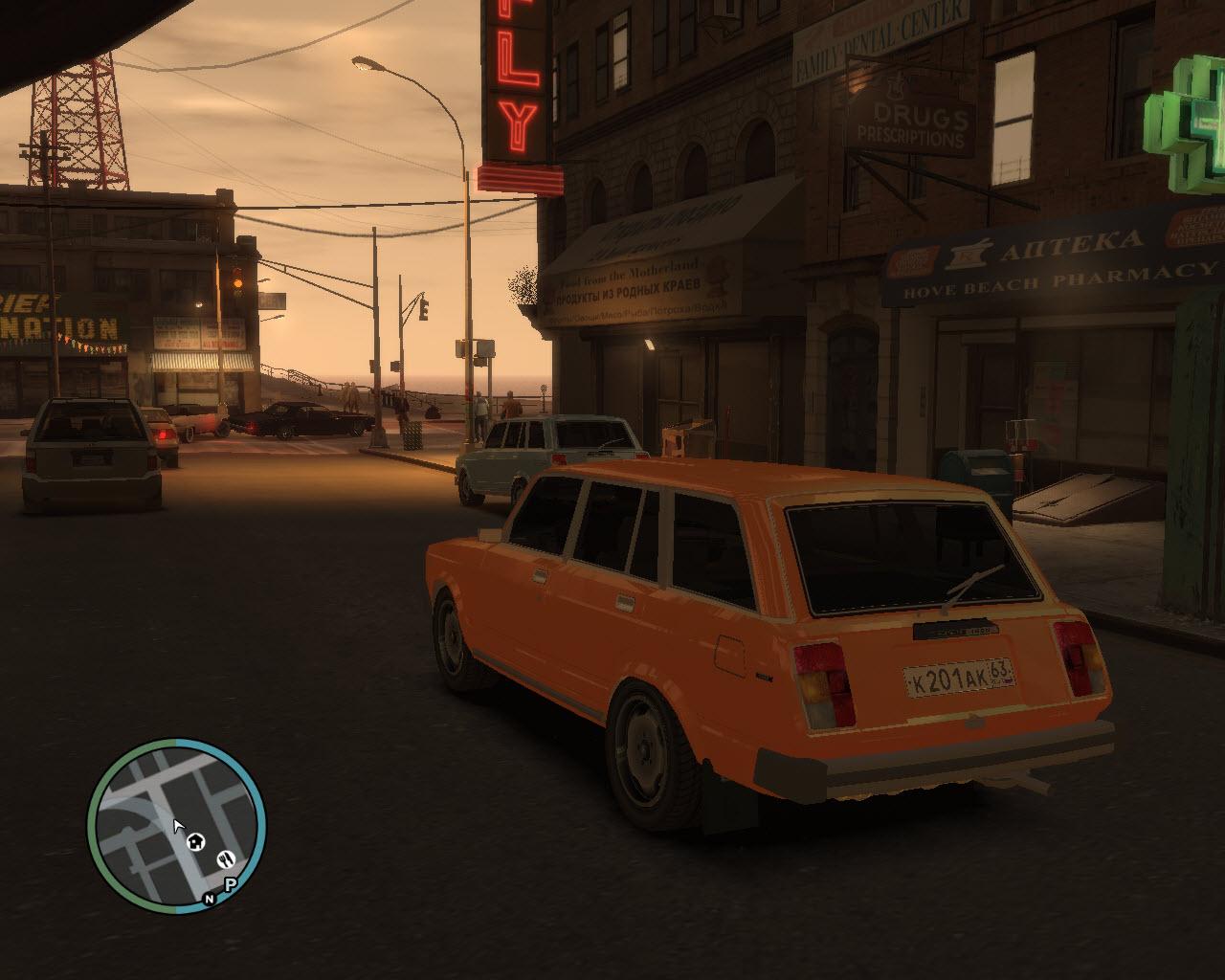 а - Grand Theft Auto 4