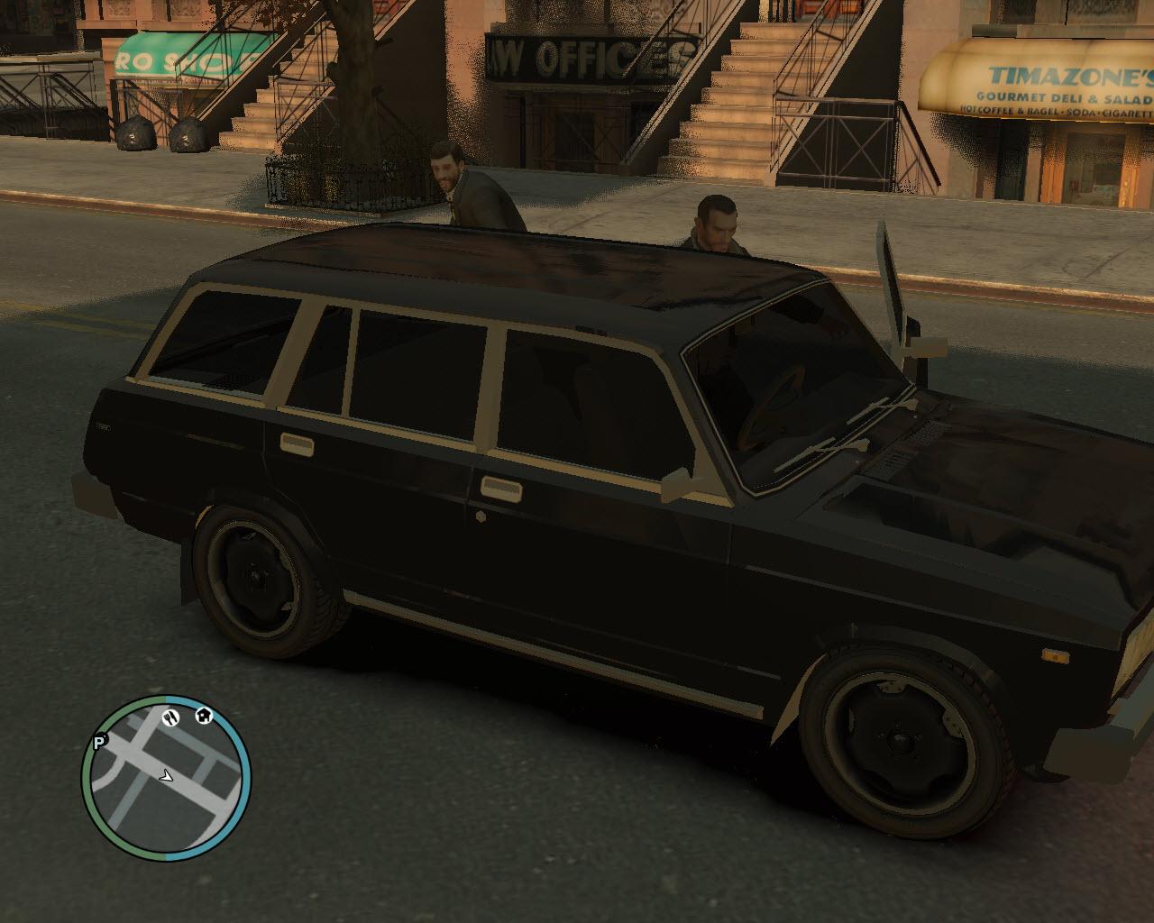 д - Grand Theft Auto 4