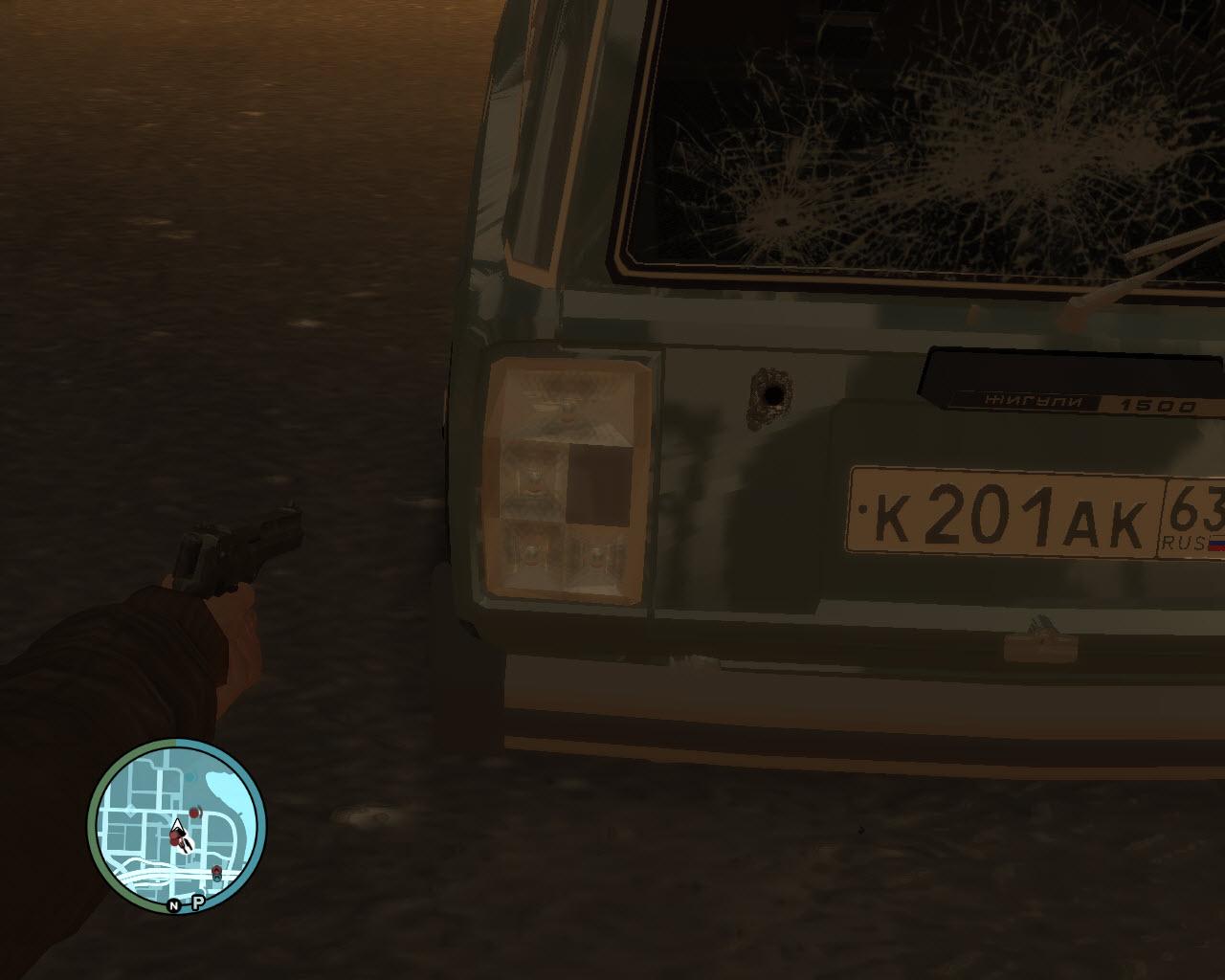 задние - Grand Theft Auto 4
