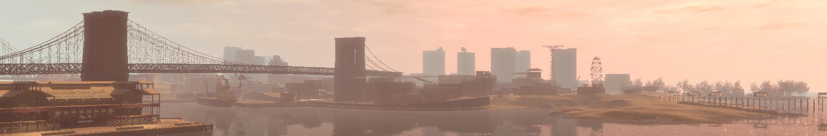 панорама города - Grand Theft Auto 4