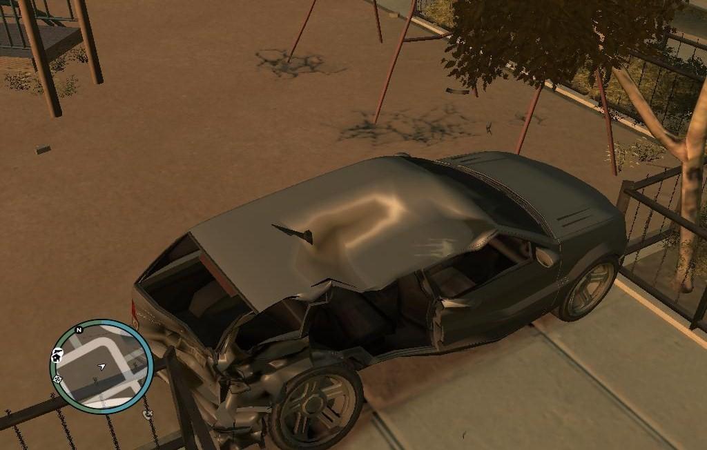 Качельки - Grand Theft Auto 4
