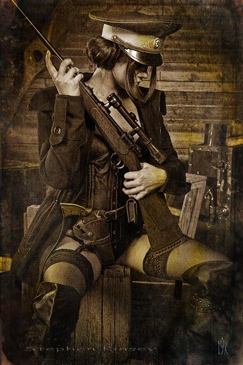 Минитмен Содружества.) - - steampunk, Косплей