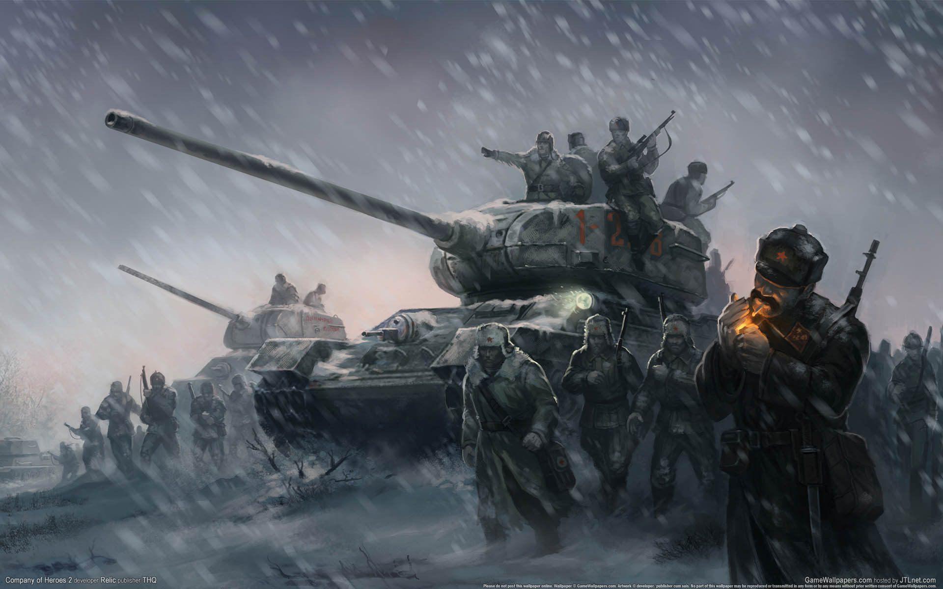 vtoraya_mirovaya_voyna_velikaya_otechestvennaya_voyna_geroi_tanki_soldaty_zima_metel_pole_boya_1920x1200.jpg - World of Tanks