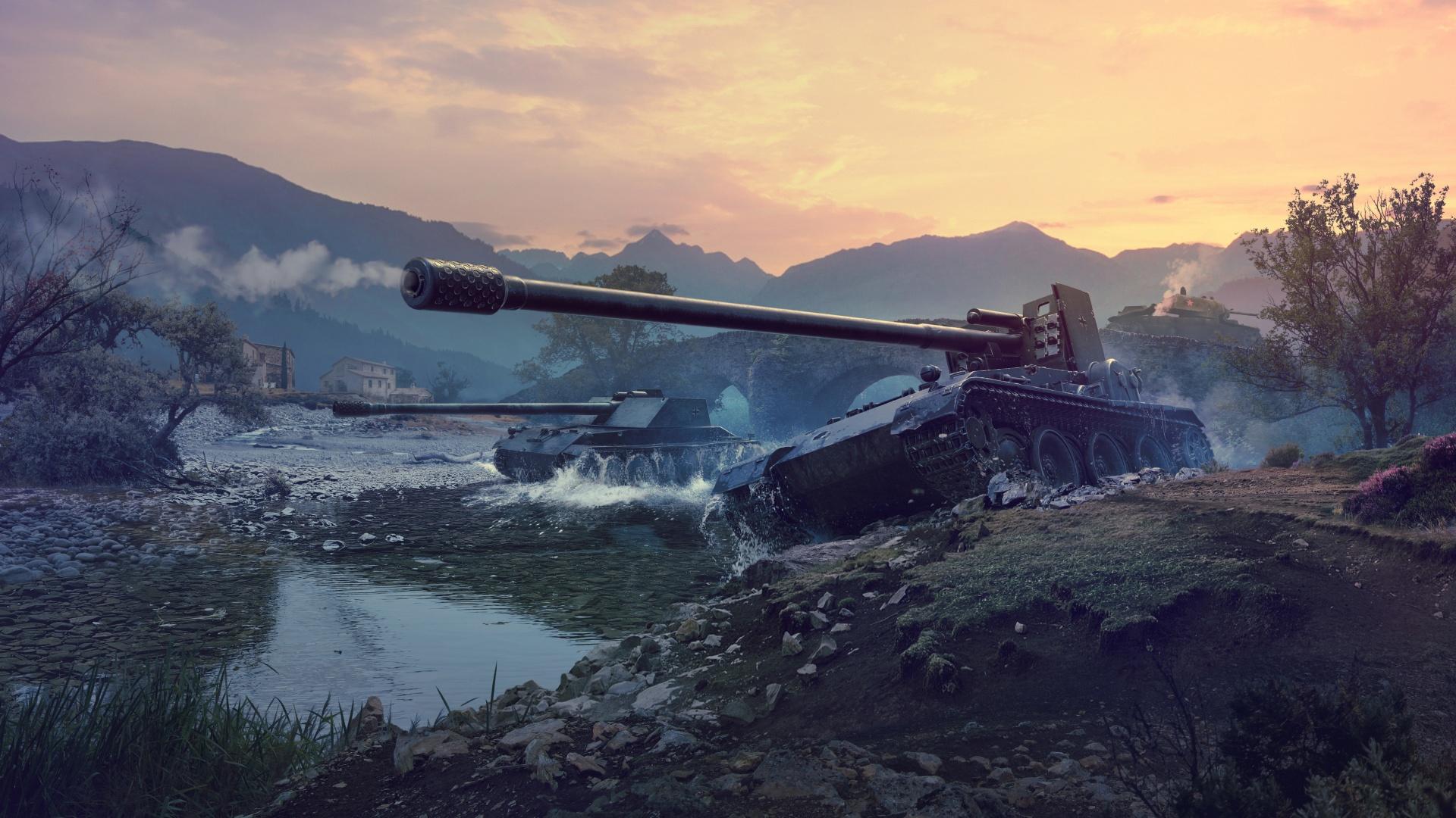 Противотанковые САУ - World of Tanks WoT,Противотанковые САУ,Rhm Borsig Waffentrager,Gr