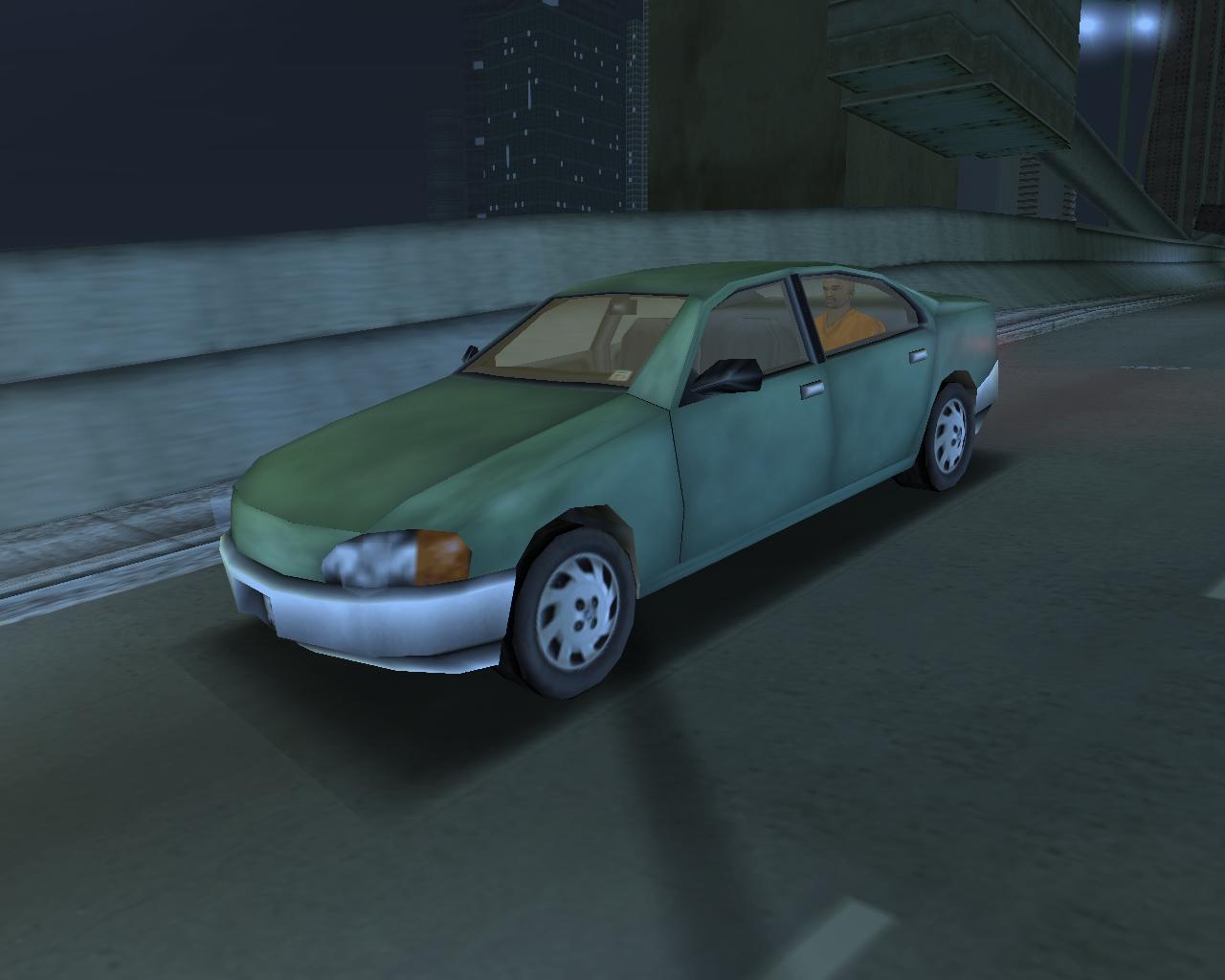 1. Kuruma (UC) - Grand Theft Auto 3