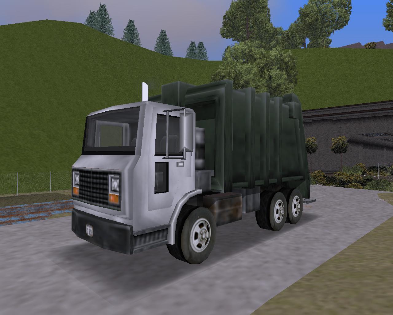 7. Trashmaster (BP/FP) - Grand Theft Auto 3