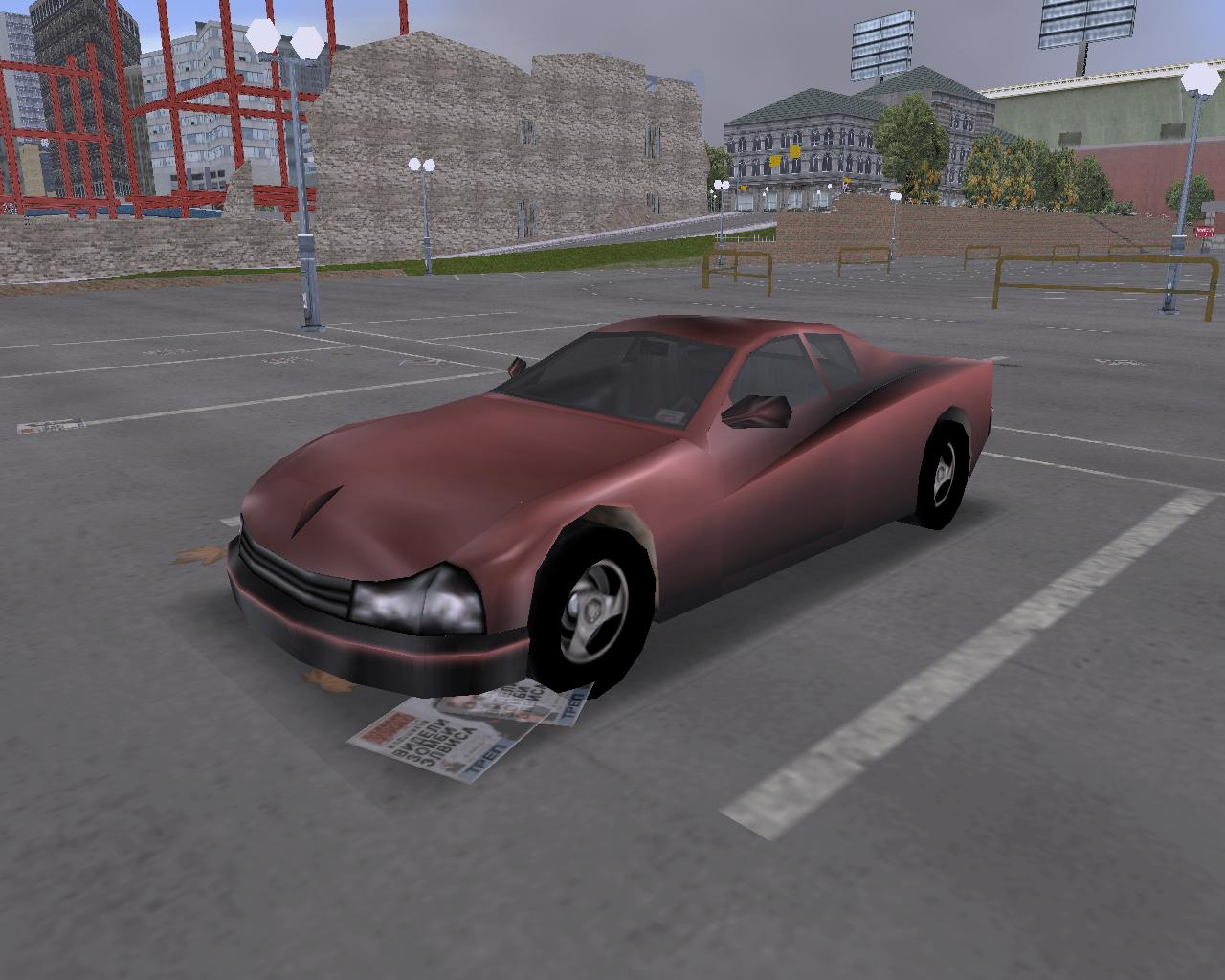 14. Cheetah (UC) - Grand Theft Auto 3