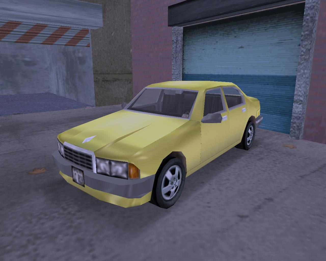 15. Sentinel (IH) - Grand Theft Auto 3