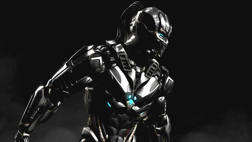 Tri-Borg Smoke - Mortal Kombat X Smoke, Tri-Borg, Смоук, Триборг