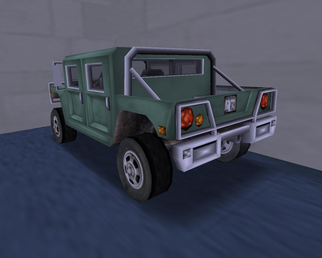 20. Patriot (BP) - Grand Theft Auto 3