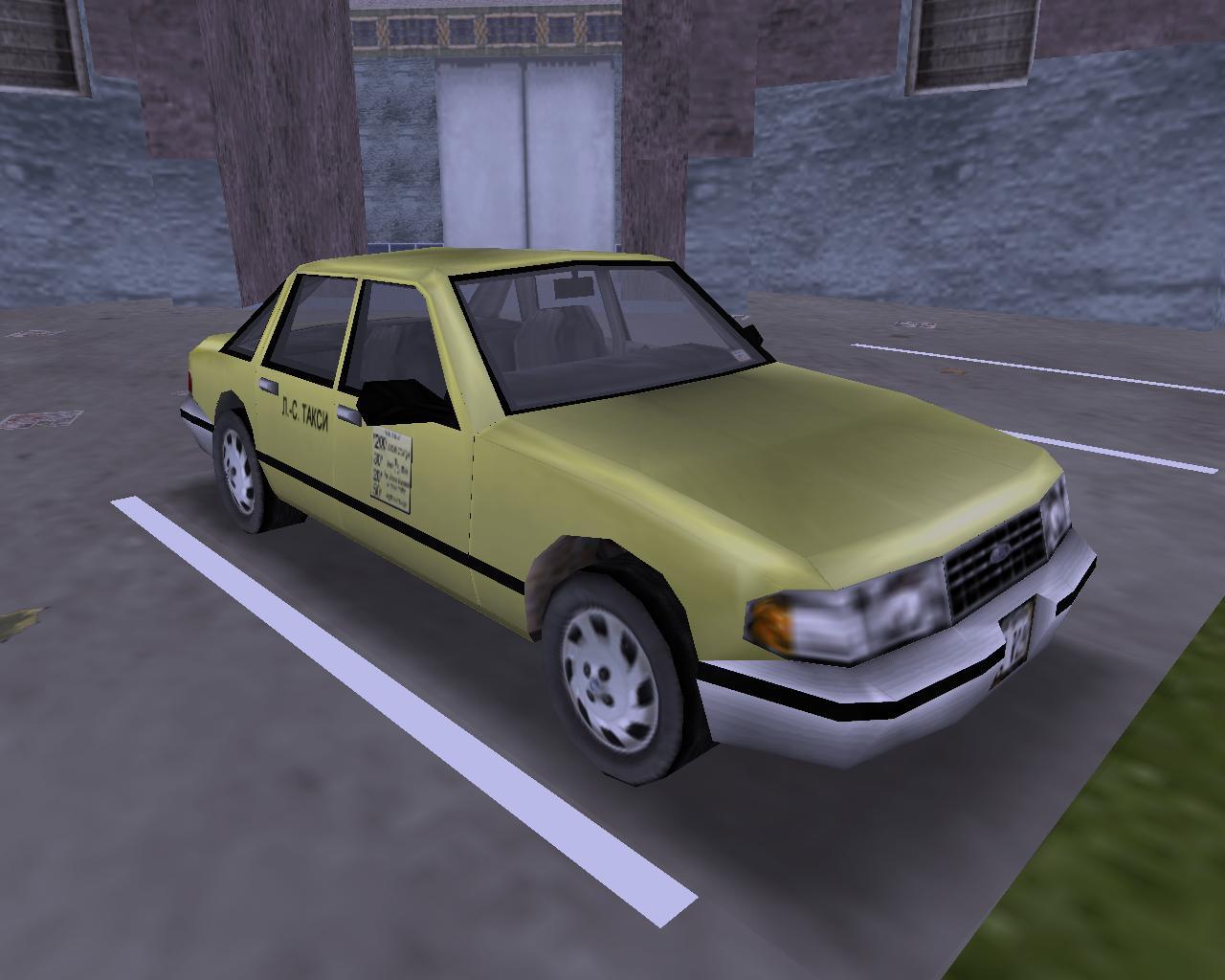 31. Taxi (NE) - Grand Theft Auto 3