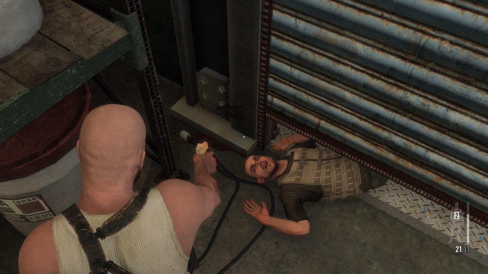 Я же сказал ему, только подержать для меня - Max Payne 3