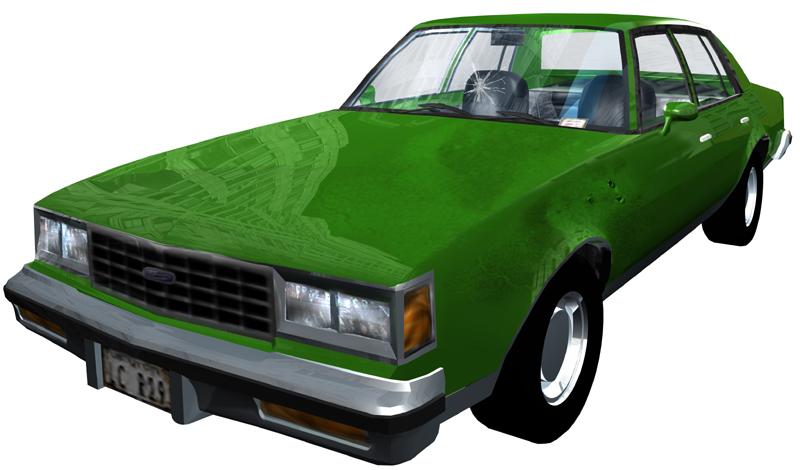 Неизвестное авто - Grand Theft Auto 3