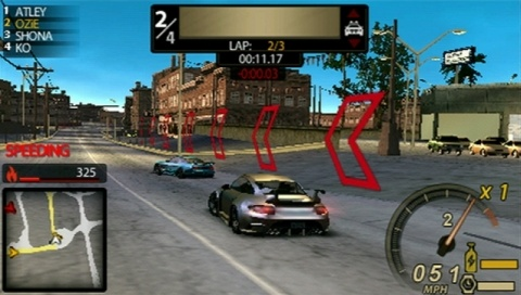 und psp - Need for Speed: Undercover